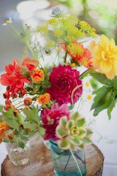 summer flowers, color combos, flower bouquets, happi flower, garden