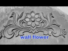 Design Discover Home flower design Cement Design, Beton Design, Single Floor House Design, South Indian Bridal Jewellery, Wall Painting Decor, Bungalow House Design, Cement Crafts, Faux Brick, Facade House