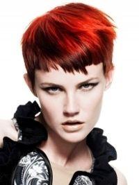 Daring redhead.