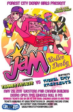 This might be the best bout poster ever.