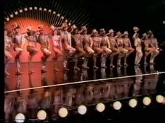 "'One' - From ""A Chorus Line"" - Mikhail Baryshnikov with the cast from ""A Chorus Line"". Taken from the TV show ""Baryshnikov On Broadway"" with Liza Minnelli (1980)"