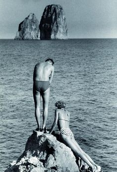 Herbert List, Capri 1951