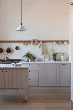 Ingredients of a Simply Beautiful Kitchen in a Georgian Apartment - Dear Designer #kitchentrends