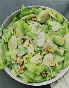 Heart of Palm and Avocado Salad - Only 20 Minutes!