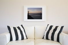 Golden Gate Sunset 12×16 Framed and Matted Print blue skies, fine art, fog, foggy, fort baker, framed and matted, golden gate bridge, horseshoe bay, light, marin headlands, medford, medford oregon, night, oregon, photographic print, sailboat, san francisco, sf, sunset, twilight