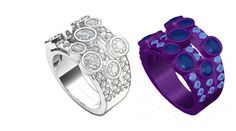 Jewellery CAD Design, Rapid Prototyping, Casting Protoforming -