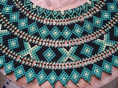 Collar Saraguros Detalle by pacificdaphne, via Flickr