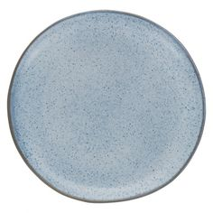 OLMO Light blue speckled dinner plate 27cm