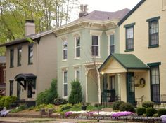 Picturesque Madison Indiana. Great place to visit. From Front Porch Ideas and More #porch #madisonindiana