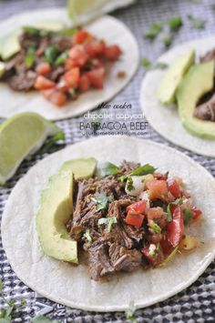 slow cooker barbacoa beef #recipe #tacos #crockpot