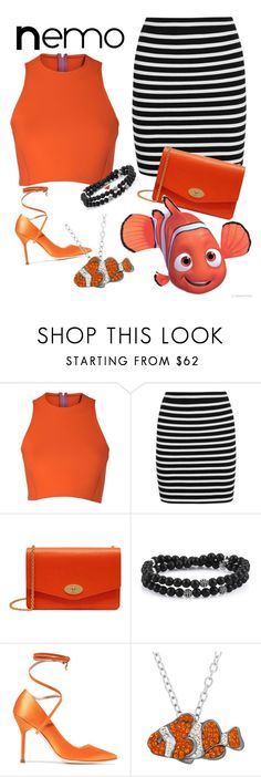 """""""Nemo - Disney Bound"""" by aschultz22 ❤ liked on Polyvore featuring Sydney-Davies, T By Alexander Wang, Mulberry, Vetements and Animal Planet"""