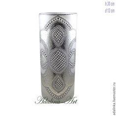 Вазы ручной работы. Ярмарка Мастеров - ручная работа. Купить КРИСТИ SILVER ваза для цветов. Handmade. Адалина-арт