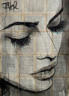 Loui Jover – wave – About Face Makeup Pics Art, Art Pictures, Wave Drawing, Newspaper Art, Organic Art, Sketch Painting, Cool Art Drawings, Art Sketchbook, Portrait Art