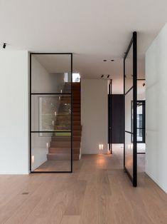 Pivot Doors, Sliding Doors, Design Case, Interior Design Living Room, Home Deco, Interior Architecture, Futuristic Architecture, New Homes, Room Decor