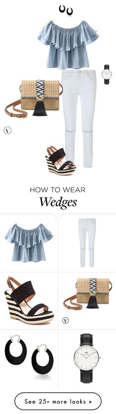 """ruffles"" by ulusia-1 on Polyvore featuring Rebecca Minkoff, Chicnova Fashion, Stella & Dot, French Blu, Bling Jewelry and Daniel Wellington"