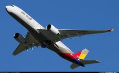Asiana Airlines Airbus A350-941XWB (Airliners.net)