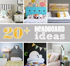 20+ DIY Headboard Ideas --- Make It and Love It