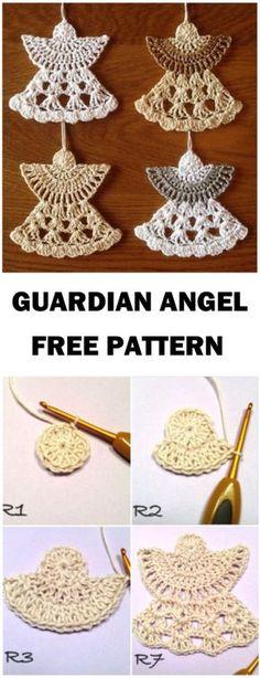 Learn To Crochet Guardian Angel