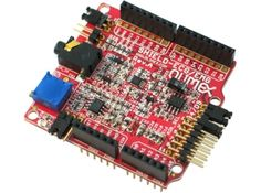 Electrocardiography/Electromyography Shield for Arduino Arduino Projects, Electronics Projects, Microcontroller Board, Arduino Shield, Open Source Hardware, Lab Instruments, Arduino Board, Hardware Software, Robot