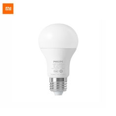 Original Xiaomi Philips Smart LED Bulb Ball Lamp WiFi Remote Control by Xiaomi Mi Home APP Standard E27 Bulb 6.5W 0.1A #Affiliate