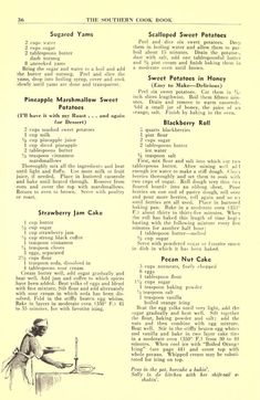 Southern Recipes The Southern cook book of fine old recipes : Lustig, Lillie S, ed : Free Downloa… Retro Recipes, Old Recipes, Vintage Recipes, Cookbook Recipes, Potato Recipes, Cooking Tips, Cooking Recipes, Cooking Cake, Deserts