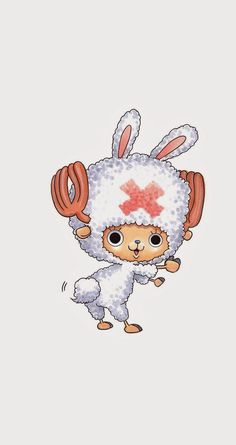 Oh yea oh yea, I'm bunny~ :3. Tap to see more Tony Tony Chopper Cosplay Wallpapers. One Piece manga/anime wallpapers for iPhone 5/5S, iPhone 6 & 6 Plus #anime #manga #cartoon