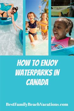 It might be time to take the gang on a trip to one of Canada's top water parks ... Canadian indoor water park doesn't mean you're going to have any less fun. Best Family Beaches, All Inclusive Family Resorts, Beach Vacations, Dream Vacations, Water Parks Near Me, Montreal With Kids, Kids Attractions, Canadian Culture, Canada Eh