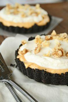 Pumpkin Cream Oreo Tarts. This recipe is easy and delicious!