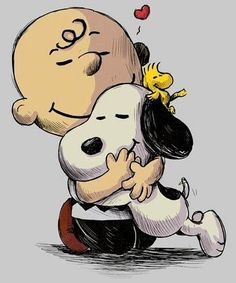 Pin It Pin It Pin It EVERYTHING WILL BE OKAY Snoopy is Charlie Brown's pet dog in the comic strip Peanuts by Charles M. The original drawings of Snoopy were inspired by Spike, one of Schulz's childhood dogs.