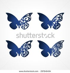 Laser cut wedding place cards, vector cutout butterfly for lasercutting. Butterfly Name Cards. Butterfly Place, Butterfly Images, Butterfly Wedding, Butterfly Crafts, Wedding Places, Wedding Place Cards, Wedding Card, Borboleta Diy, Glue Art