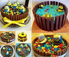 Kit+Kat+Minion+Cakes
