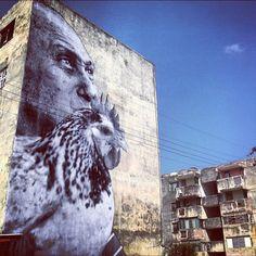 reinopin: Wrinkles of the city, La Havana © JR Artist