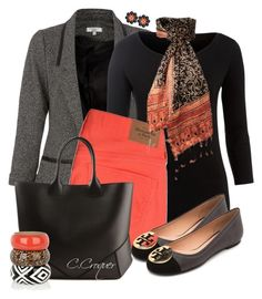 """""""Fall Flats"""" by ccroquer ❤ liked on Polyvore featuring Weekend Max Mara, Abercrombie & Fitch, Givenchy and Tory Burch"""