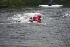 A good day's water team training. In the morning three trainees undertook their level two water assessment, all did well. During the afternoon the rescue 3 swift water technicians practiced their skills in the ever rising waters of the River Dart.  Pictures by Andrew Luscombe