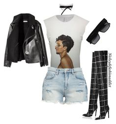 """""""Untitled #1724"""" by stylesbynickey ❤ liked on Polyvore featuring BLANKNYC and Fallon"""