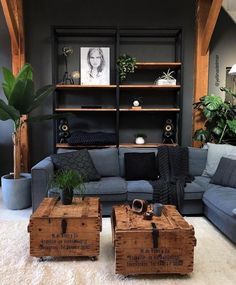 Cozy Small Living Room Decor Ideas For Your Apartment decor Home Living Room, Manly Living Room, Masculine Living Rooms, Living Room Decor Small Apartment, Living Room And Bedroom Combo, Living Room New Design, Small Living Room Designs, Man Cave Living Room, Masculine Home Decor