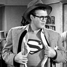 Comics on Film: What Quentin Tarantino Got Wrong About Clark Kent First Superman, Batman Vs Superman, Classic Tv, Classic Movies, Hollywood Actor, Classic Hollywood, George Reeves, Adventures Of Superman, Old Movie Stars