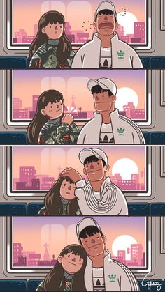 15 beautiful comics illustrated how a sweet relationship looks like - randomoverload couple cartoon, anime Cute Couple Comics, Couples Comics, Cute Couple Art, Couple Cartoon, Cute Comics, Funny Comics, Cute Couple Drawings, Cute Drawings, Couples Anime