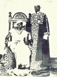 Princess Kezia Rukidi of Toro (1906-1998), laterThe Queen of Toro, wife of King George Rukidi III of Toro (1904-1965).