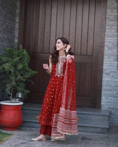 Designer dresses indian - mayaali in Norway wearing, Outfit by Indian Bridal Outfits, Pakistani Outfits, Pakistani Long Dresses, Pakistani Fashion Casual, Indian Designer Suits, Indian Designer Clothes, Designer Suits For Wedding, Ethnic Outfits, Ethnic Dress