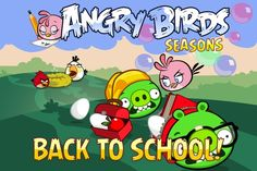 angry birds seasons school