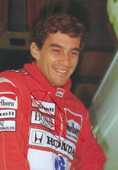 autograph Ayrton Senna_2