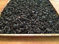 Making Activated Bamboo Charcoal