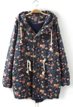 Yeah yeah! Floral again! I just love this jacket, adds me black leggings and some black Dr. Martens boots! You are set!   