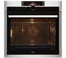 AEG - Four encastrable Four Pyrolyse, Bosch, Oven, Kitchen Appliances, Products, Bakery Business, Drawer, Diy Kitchen Appliances
