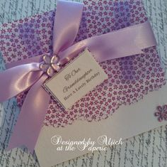 Birthday Card, Granddaughter, Daughter, , Princess, Personalized, Handmade by thelavenderblue on Etsy