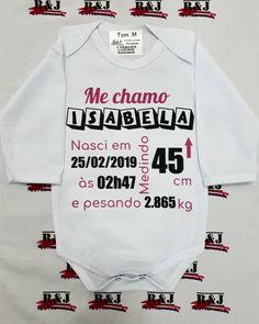 """Body baby - """"Nascimento do bebê"""" 💟️ Personalize com sua estampa!! Para maiores informações entrar em contato via WhatsApp 11-94943-6375… Onesies, Instagram, Kids, Clothes, Fashion, Stamping, Bedroom, Toddler Girls, Pictures"""