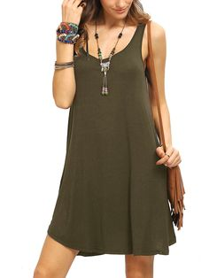 Cheap summer casual dress, Buy Quality tank dress directly from China casual dress women Suppliers: 2017 Sexy Summer Casual Dress Women Solid Color Sleeveless Beach Basic Dress Black Army Green Brief Tank Dresses Short Vestidos Beach Dresses, Casual Dresses, Short Dresses, Summer Dresses, Slip Dresses, Sleeveless Dresses, Dresses 2016, Sleeveless Shirt, Wine Red Dress