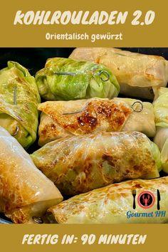 Omas Kohlrouladen orientalisch neu frisiert. Die Sauce mit Madeira verfeinert - ein Geschmackserlebnis! #kohlroulade #kohlrouladen #orientalisch