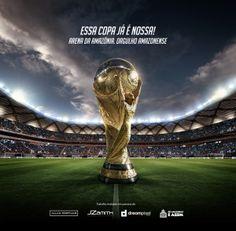 Arena da Amazônia - Advertising by Allan Portilho, via Behance